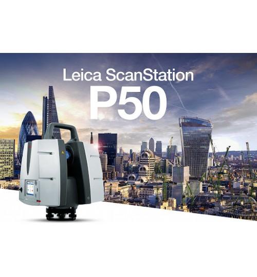 Высокоточный Лазерный Сканер Leica ScanStation P50